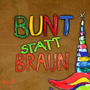 Artwork - Bunt Statt Braun