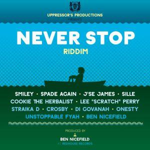 V.A. - Never Stop Riddim (2015)