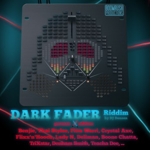 Cover - Dark Fader Riddim (German Edition)