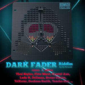 Cover - Dark Fader Riddim (International Edition)